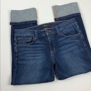 Joe's Cropped Cuffed Jean